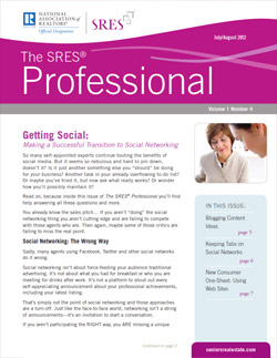 The SRES Professional
